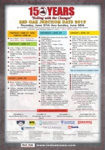 Junction Days Schedule 2019