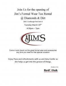 Jim's Formal Wear Tux Rental