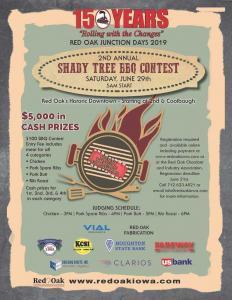 2nd Annual Shady Tree BBQ Contest