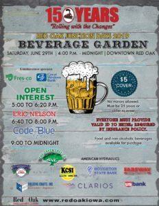 Red Oak Junction Days Downtown Beverage Garden