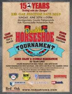 Doubles Horseshoe Tournament 2019