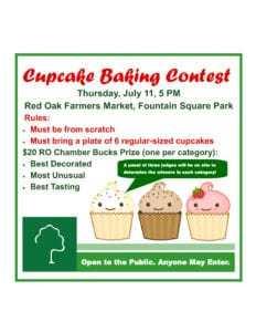 ROFM Cupcake Contest