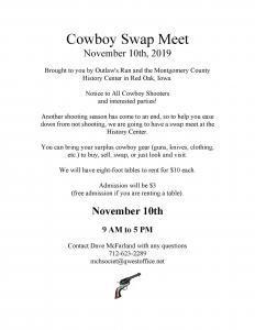 Cowboy Swap Meet