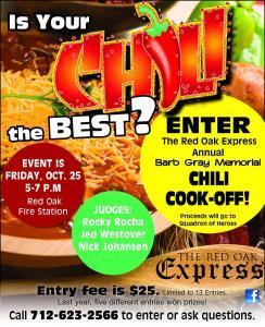 Chili Cook-off 2019