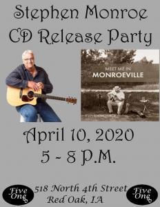 Stephen Monroe CD Release